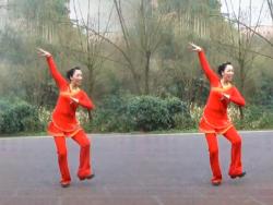 幸福天天广场舞热辣草原含教学 关庆小海《热辣草原》歌词MP3下载