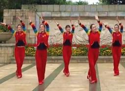 張春麗廣州舞隊廣場舞祝福千萬家 2016年新年熱門廣場舞 納蘭《祝福千萬家》歌詞MP3下載