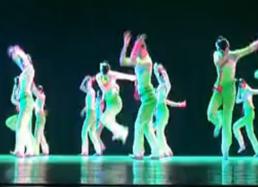 群舞春知沂蒙 山东艺术学院表演 山东秧歌舞蹈