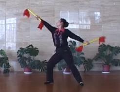 花棒健身秧歌教学(第3-5段教学) 花棒秧歌三 宝山区花棒秧歌