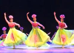 舞蹈国色天香 淮南市群众舞蹈大赛 群文群舞开场舞国色天香