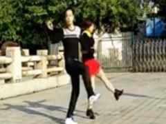 神彩吉特巴水兵舞教学二 神彩广场舞很任性