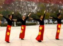 九江向霞廣場舞火火的中國正面背面含教學 《火火的中國》歌詞MP3下載