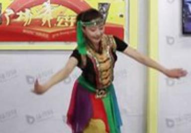西湖莉莉原创广场舞 天下最美的草原广场舞教学视频下载 元宵节特辑 背面演示