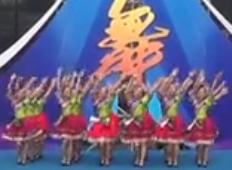 周思萍廣場舞歡樂土家舞 好心情舞蹈隊表演 2016重慶市群眾廣場舞展演