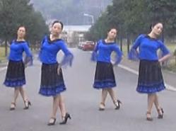 紫蝶踏歌广场舞独角戏视频舞蹈舞曲下载 含応子教学 优美动人的中老年广场舞