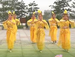 广场舞美丽的西玛 印度舞 华阴市红叶艺术团表演
