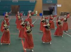 广场舞达板城的姑娘 舞蹈视频 表演版