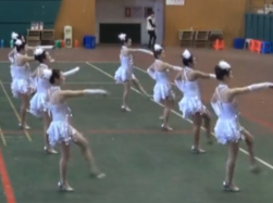 当我宝贝广场舞排舞舞蹈视频 移动公司排舞当我宝贝