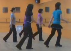 詹妮排舞123 Line Dance-Uno Dos tres 32拍4个方向