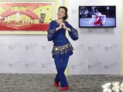 西湖莉莉广场舞心中的高原教学视频下载 藏族舞风格的双人舞心中的高原
