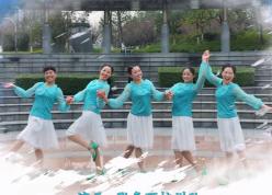 張春麗廣場舞下個冬天誰能陪我看雪 張春麗杭州隊表演 芭蕾元素廣場舞