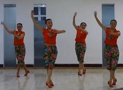星月团队独家新舞大火的歌 正面背面演示教学 豪迈火辣的东北秧歌舞