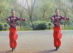 幸福天天广场舞斗牛士正反面含教学 编舞杨丽萍 斗牛曲健身操