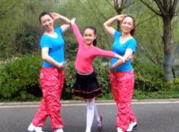 宝贝麦西西广场舞亲子表演 幸福天天广场舞宝贝麦西西