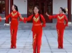 江西娇娇飞雪队广场舞金猴闹新春正反面含教学 2016年热门中老年广场舞