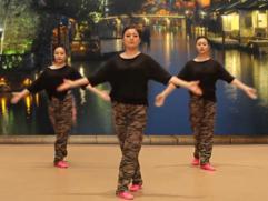 排舞月光下的爱含教学 2016浙江省文化馆排舞推广教材排舞