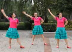 宜興綠茶廣場舞你若盛開 編舞藝莞兒 玖月奇跡《你若盛開》歌詞歌曲