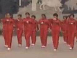 太原龙城快乐舞步健身操视频舞曲