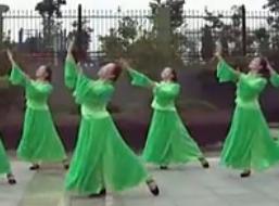 紫蝶踏歌广场舞好一朵茉莉花 编舞阿中中 古典舞风格广场舞