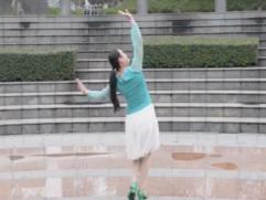 下個冬天誰能陪我看雪張春麗廣場舞背面演示 三步舞曲 孫百慧《下個冬天誰能陪我看雪》