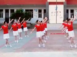 惠汝广场舞快乐舞动 20人变队形串烧 舞曲《快乐广场》《走向复兴》