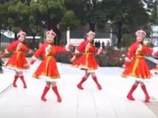 西湖莉莉广场舞醉乡正面背面演示教学 蒙古舞 大方优美的中老年广场舞