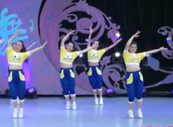 北京加州飞龙广场舞中国龙中国梦 编舞格格