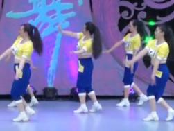 中国龙中国梦广场舞背面舞蹈视频 北京加州飞龙广场舞