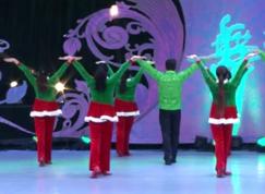 草原情花艺紫宁广场舞背面舞蹈视频