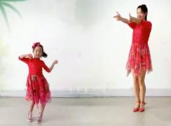 阿采广场舞小汽车正反面含分解 母女版 儿童节广场舞