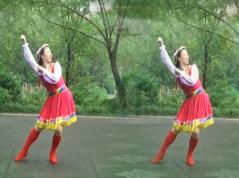 幸福天天广场舞康巴情 编舞清秋 藏舞风格广场舞