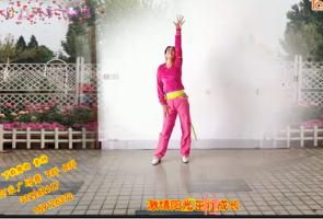 阿采广场舞原创《文明出行歌》含教学和背面 视频舞蹈免费下载