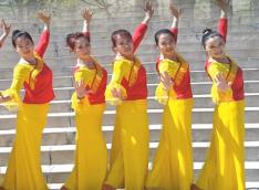 塔河蓉兒廣場舞阿媽請放心正反面含教學 藏族歌手認真《阿媽請放心》