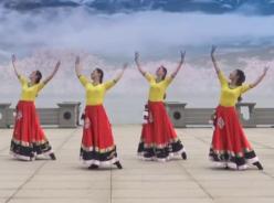 九江向霞廣場舞走出喜馬拉雅正面背面演示教學 九江百姓健康舞向霞健身舞團《走出喜馬拉雅》