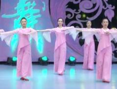 君子之风艺紫宁广场舞正面舞蹈视频 舒缓柔美的中老年广场舞