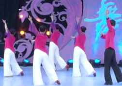 漫漫人生路艺子军广场舞背面舞蹈视频