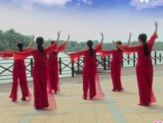 雕花硯廣場舞背面舞蹈視頻 高安飛揚廣場舞團隊版