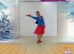 王梅广场舞《画颜》原创附教学 视频舞曲