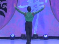 藝子龍廣場舞紅 饒子龍原創舞蹈系列《紅》正背面演繹