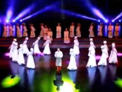 舞蹈马背上的思念队形版 九江百姓健康舞向霞健身舞团《马背上的思念》演出版