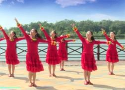 江西高安飛揚廣場舞中華情團隊演示 王宏偉《中華情》歌詞MP3