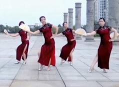 青山青廣場舞旗袍正反面含分解 蘇晴《旗袍》歌詞歌曲下載