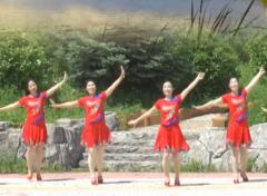 塔河蓉兒廣場舞醉美的地方正反面含分解 演唱:阿娜丹