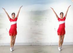 阿采广场舞中国武警之歌正反面含分解