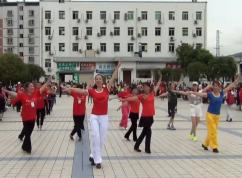 幸福天天广场舞我的家乡叫天堂 团队合作版