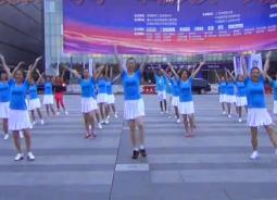 幸福天天广场舞朋友一生最难得 团队演示