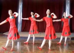 天姿广场舞爱的思念正反面演示 舞曲乌兰托娅《爱的思念》