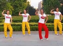 舞动旋律2007健身队广场舞高跟鞋先生 时尚动感的广场舞健身操