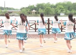 江西高安飛揚廣場舞詠春style背面演示 電影《緣來是游戲》主題曲